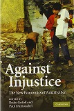 Against Injustice: The New Economics of Amartya Sen表紙